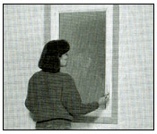 Casement & Awning windows Clean Step 1