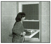 Double hung windows cleaning step 3